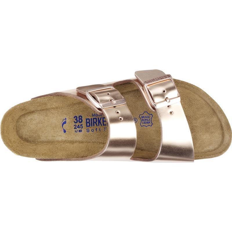 1c8984820f2630 Arizona Metallic Copper Naturleder - Sandalenexpress Birkenstock und ...