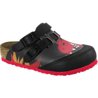 Kay Kids Fire Dragon Black Red Gr.30-34